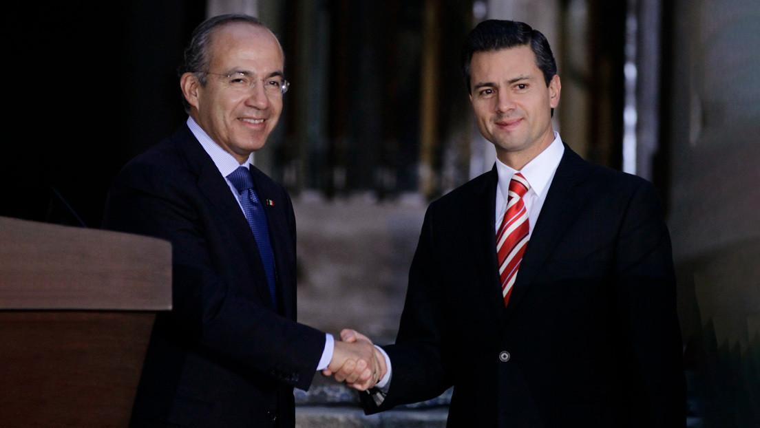 Investigan las cuentas de los expresidentes mexicanos Enrique Peña y Felipe Calderón por el caso Odebrecht