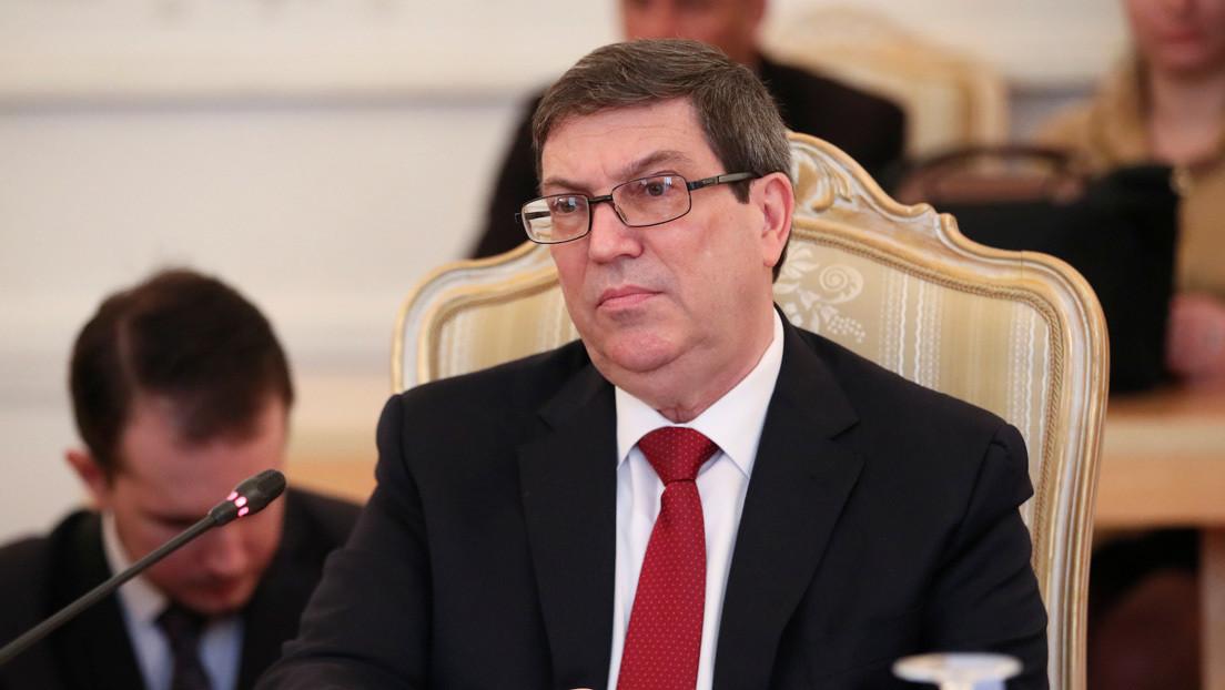 """El canciller de Cuba condena las nuevas sanciones de EE.UU.: """"Dañan al pueblo y los lazos de las familias en ambas naciones"""""""