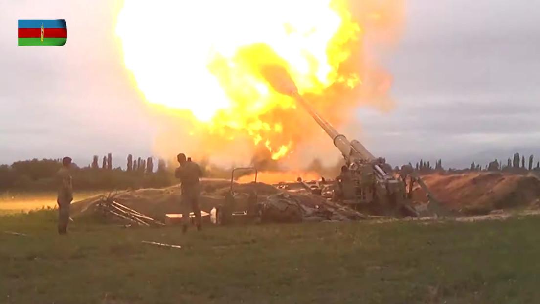 Azerbaiyán desmiente que Nagorno Karabaj derribara uno de sus aviones militares