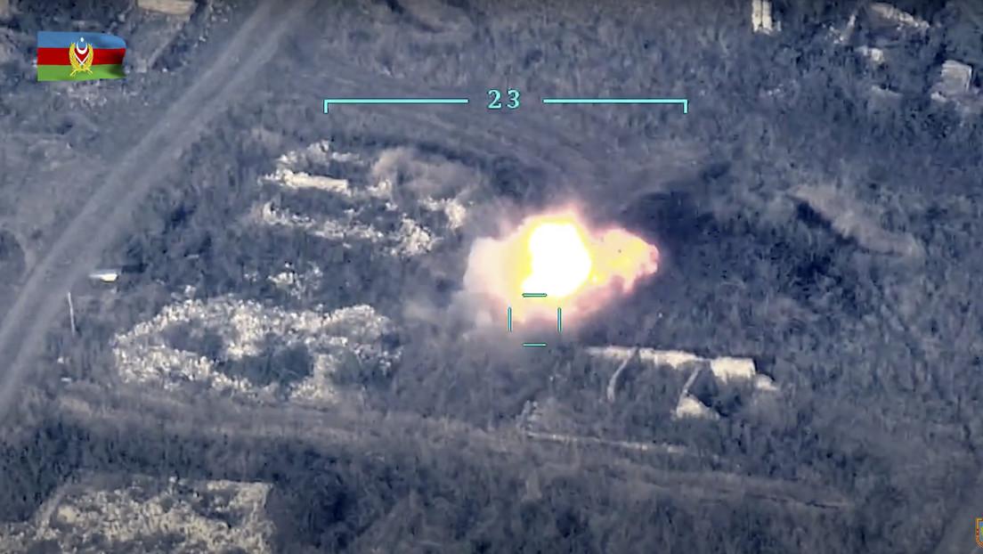 Azerbaiyán afirma haber destruido por completo el regimiento armenio de fusileros motorizados en Nagorno Karabaj