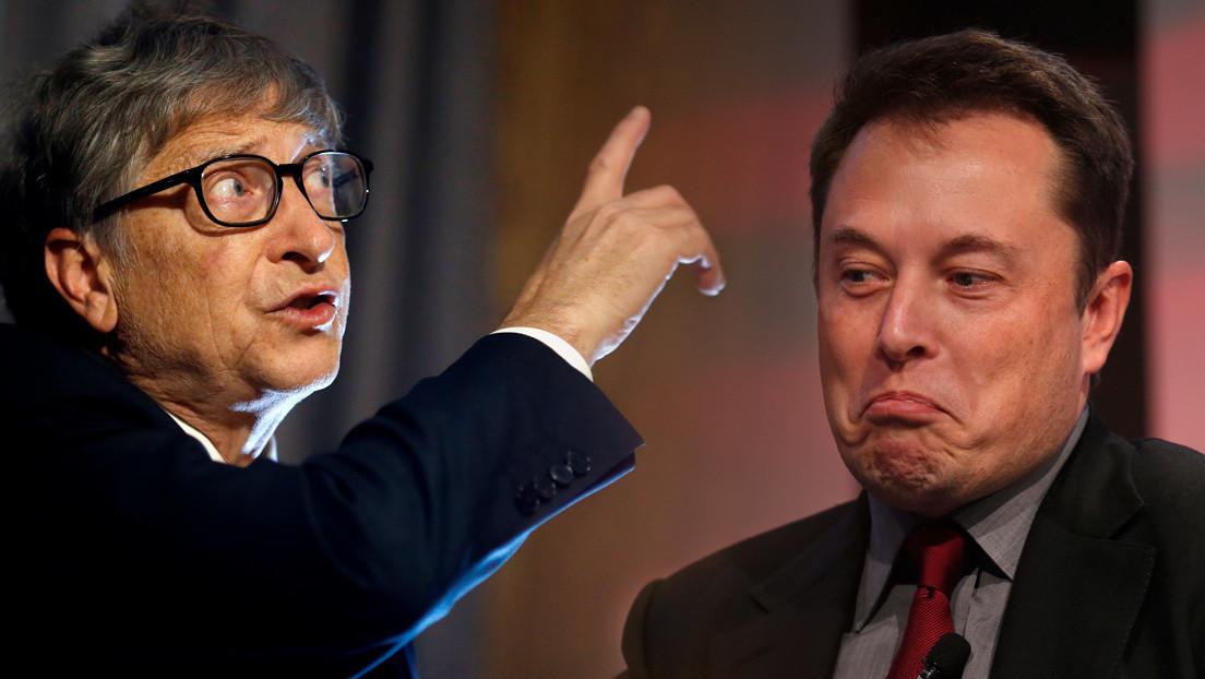 """""""Todos mueren"""": Musk ataca a Bill Gates, asegura que ni él ni su familia serán vacunados contra el coronavirus"""