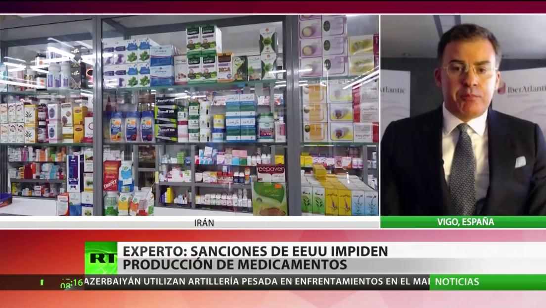 Experto: Sanciones de EE.UU. impiden la producción de medicamentos en algunos países