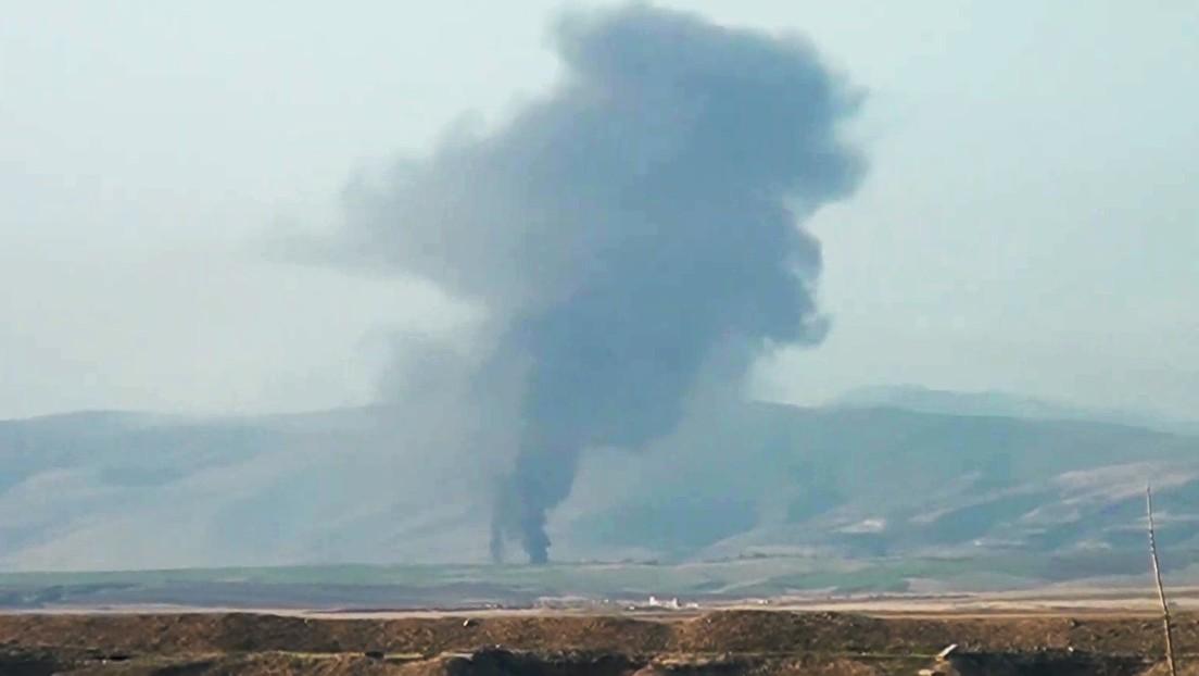 Azerbaiyán asegura que hasta 2.300 soldados armenios han muerto o resultado heridos en Nagorno Karabaj