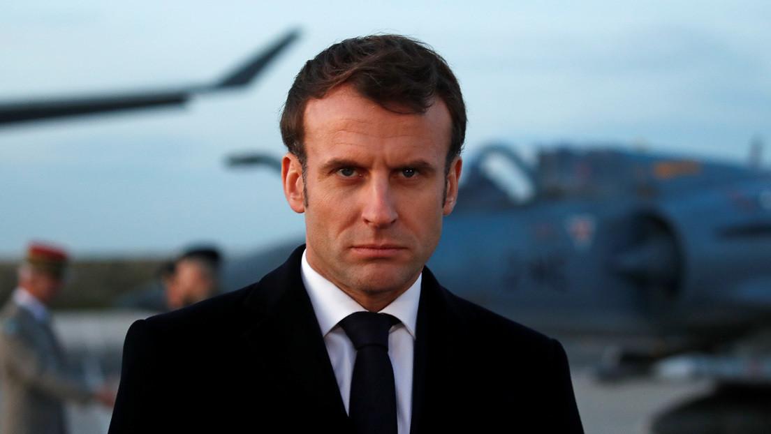 Macron insta a Europa a dejar de depender de los sistemas de armas estadounidenses