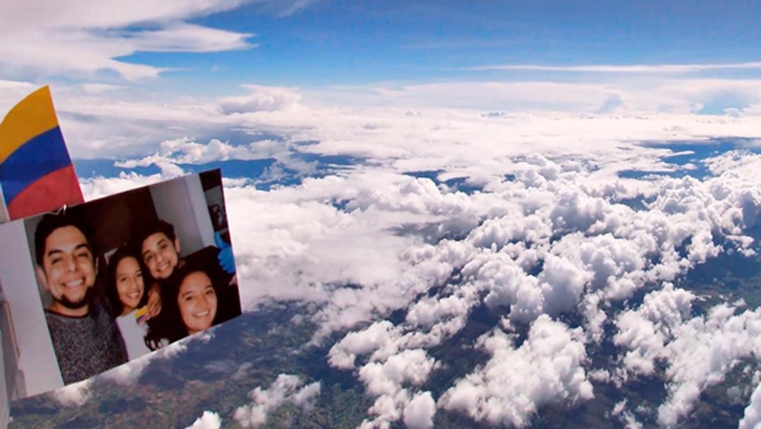 VIDEO: 'Influencer' colombiano lanza sonda espacial casera a la estratosfera y capta asombrosas imágenes de la tierra