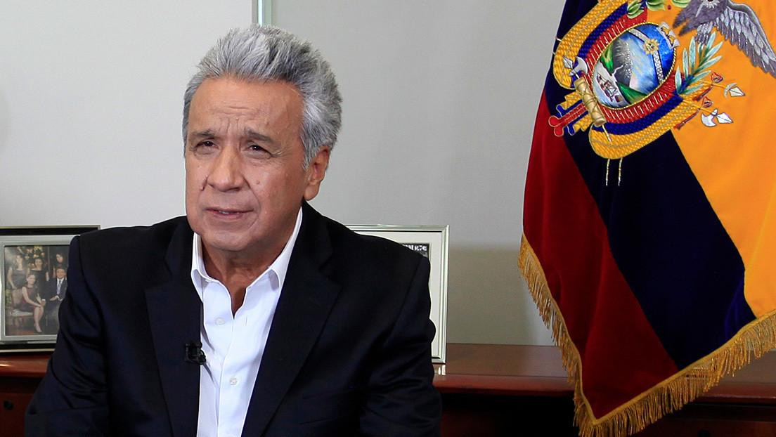 Lenín Moreno anuncia que el FMI aprobó un acuerdo con Ecuador para acceder a un crédito por 6.500 millones de dólares
