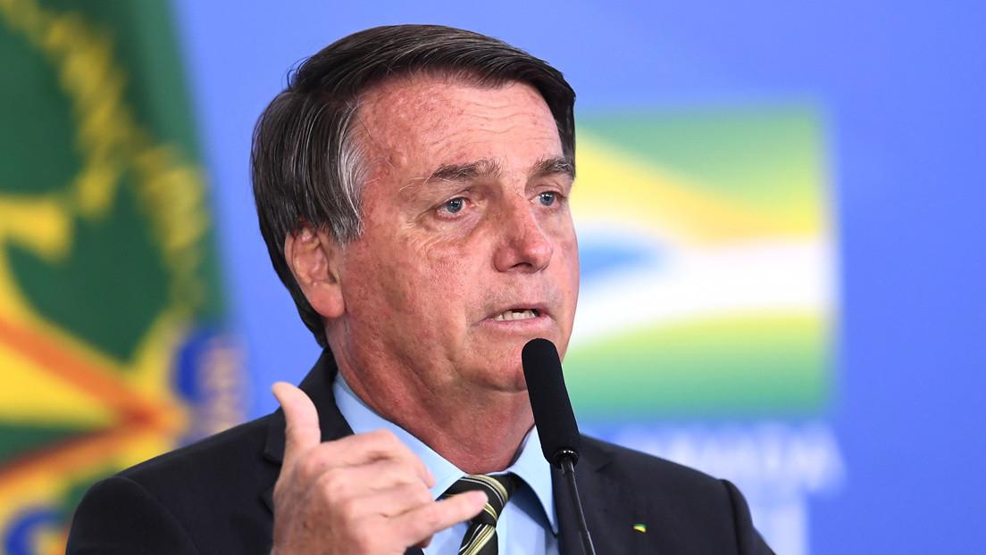 """Bolsonaro vuelve a acusar a las ONG  de llevar a cabo """"crímenes ambientales"""" en Brasil"""