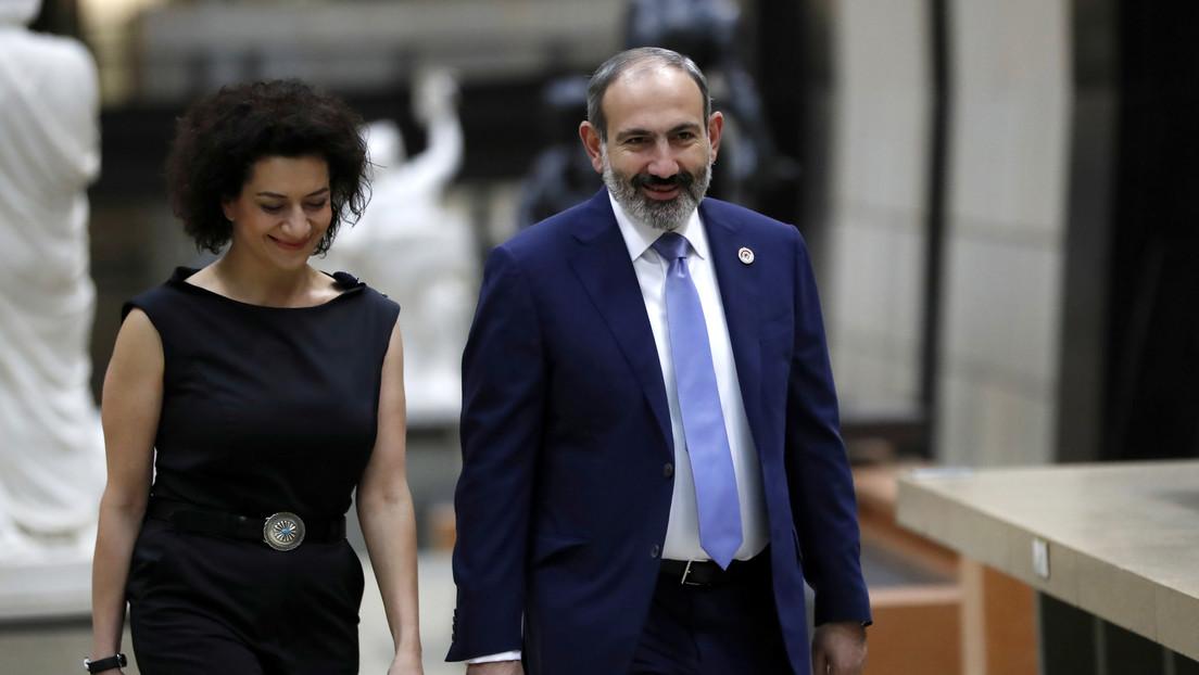 """'Primera dama' de Armenia a su hijo tras ser reclutado: """"te adoro, pero no hay nada más noble que morir por la patria"""""""