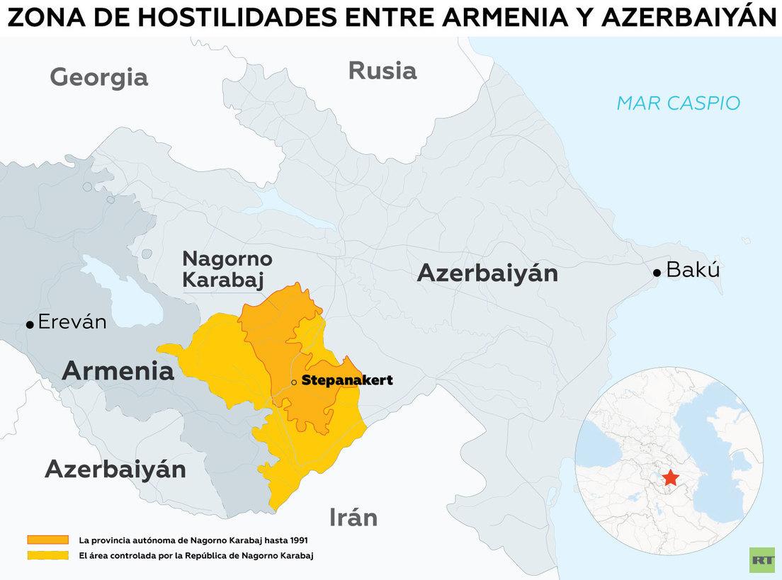 Movilizaciones, estado de guerra y acusaciones mutuas: ¿qué pasa entre Armenia y Azerbaiyán? | Noticias de Buenaventura, Colombia y el Mundo