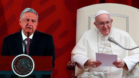 """""""Ayudar a los pobres no es comunismo"""": El papa Francisco aterriza en la política mexicana a través un polémico spot de López Obrador"""