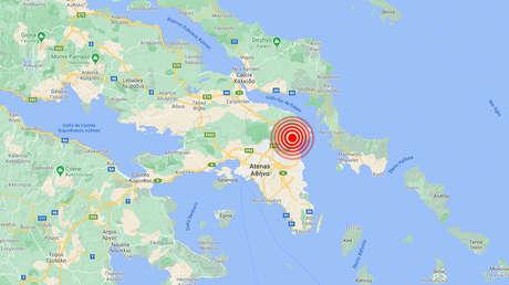 Se registra un terremoto de magnitud 4,3 cerca de Atenas