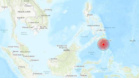 Se registra un sismo de magnitud 6,3 frente a las costas de Filipinas
