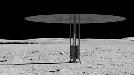 EE.UU. planea instalar un reactor nuclear en la Luna