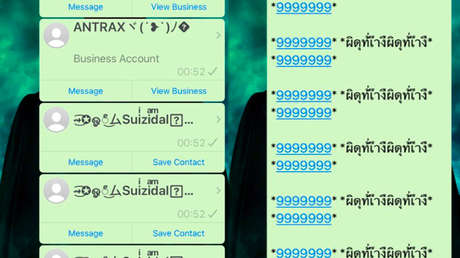 """Avisan sobre """"mensajes temibles"""" y tarjetas virtuales que pueden provocar un bloqueo infinito de WhatsApp"""