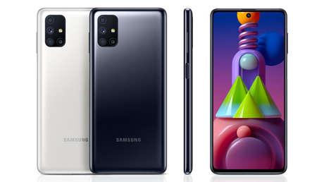 Samsung lanza el Galaxy M51 con una 'súper batería' y una pantalla con orificio