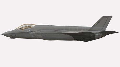 """FOTOS: Primeras imágenes del caza furtivo F-35A de EE.UU. con camuflaje de """"agresor"""" que imita el aspecto de los Su-57 rusos"""