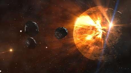 Dos enormes asteroides atravesarán la órbita de la Tierra en un intervalo de menos de 24 horas