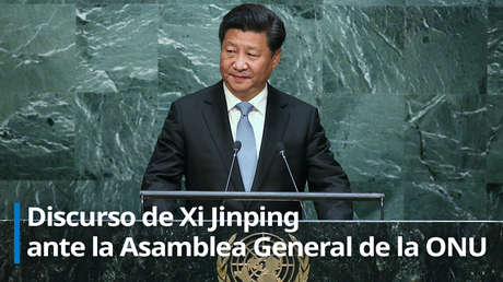 """Xi Jinping: """"El coronavirus será derrotado y la victoria será de toda la humanidad"""" (VIDEO)"""
