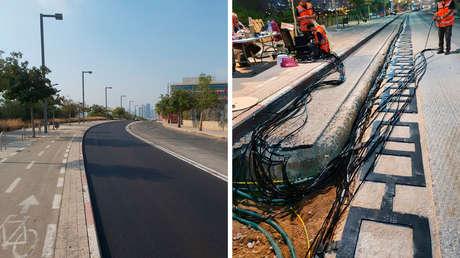 Israel prueba carreteras que cargarán las baterías de vehículos eléctricos mientras circulan