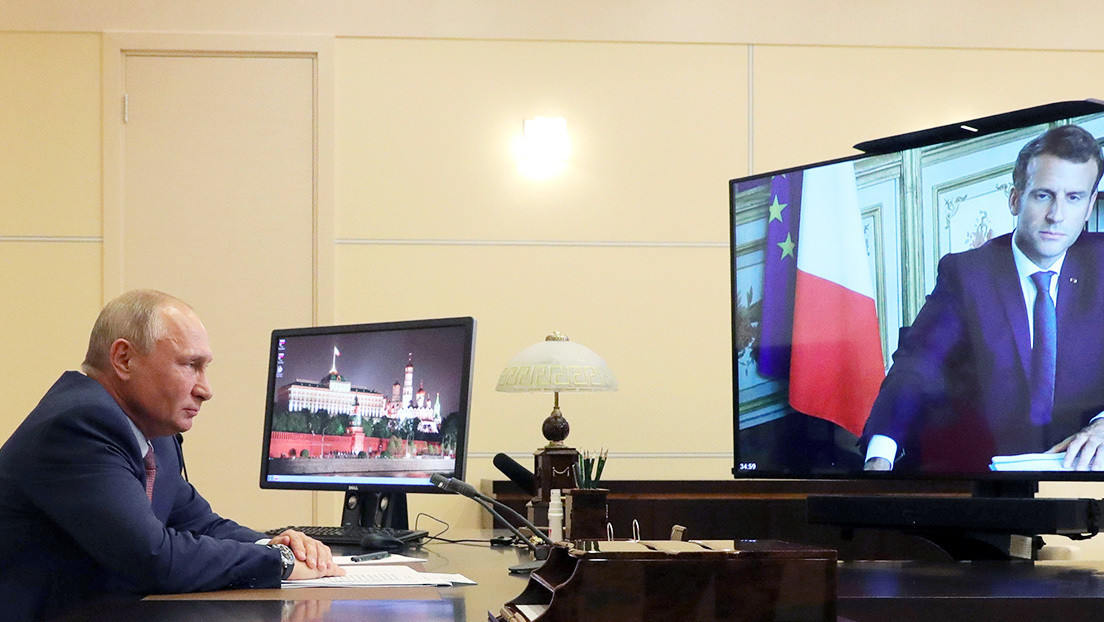 Putin, Trump y Macron acuerdan una declaración sobre la situación en Nagorno Karabaj