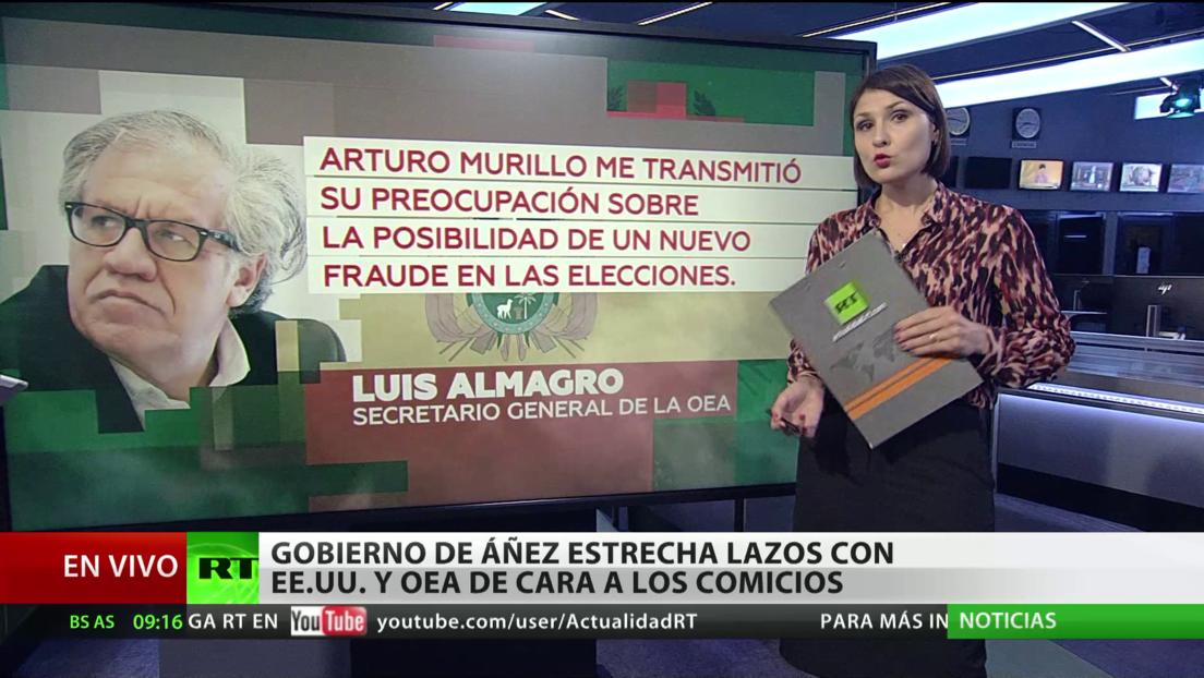 Gobierno de Áñez estrecha lazos con EE.UU. y OEA de cara a los comicios en Bolivia
