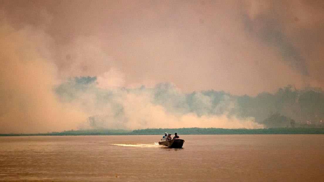 Los incendios en el Pantanal registran un récord histórico mientras Bolsonaro carga contra las ONG ambientalistas