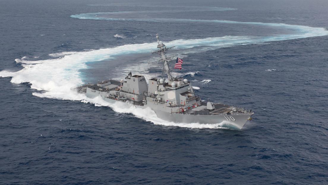 Venezuela denuncia la presencia de un buque de guerra de la Armada de EE.UU. a 16,1 millas náuticas de sus costas