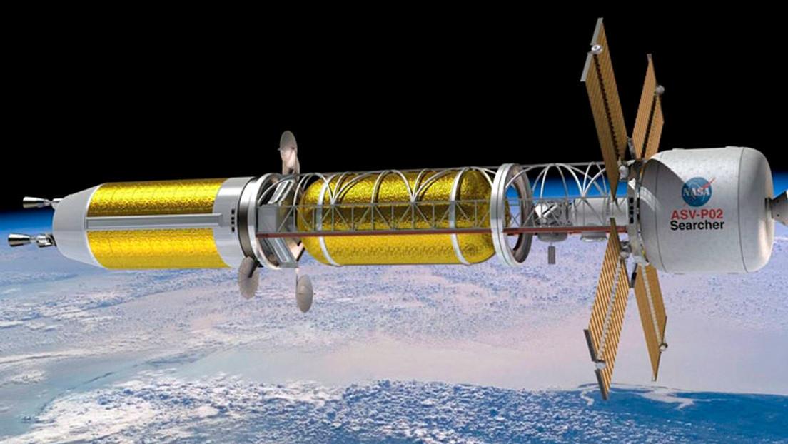 EE.UU. comienza a desarrollar un cohete de propulsión nuclear para lanzar misiones militares a la Luna