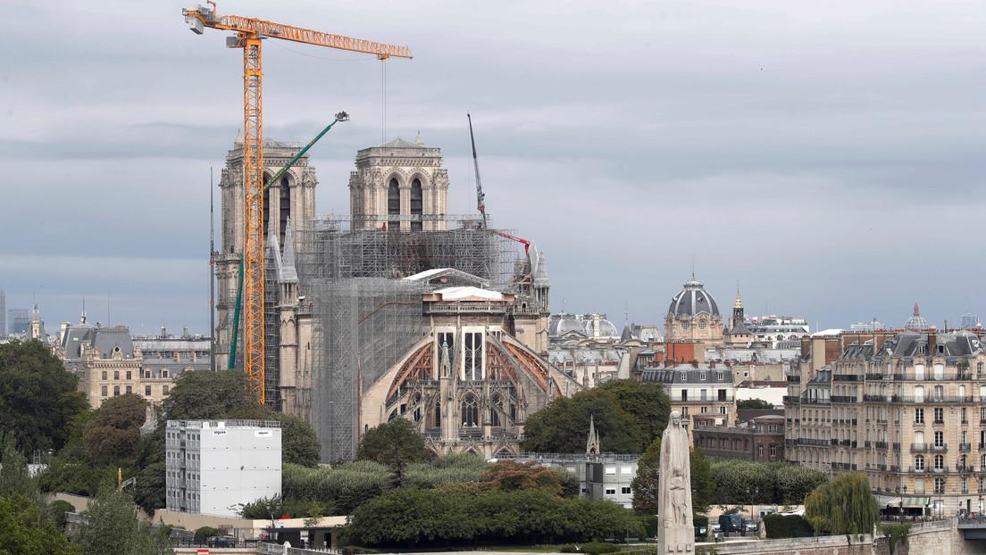 """Piden en Francia """"que se acabe con el gasto de fondos"""" de la reconstrucción de Notre Dame"""