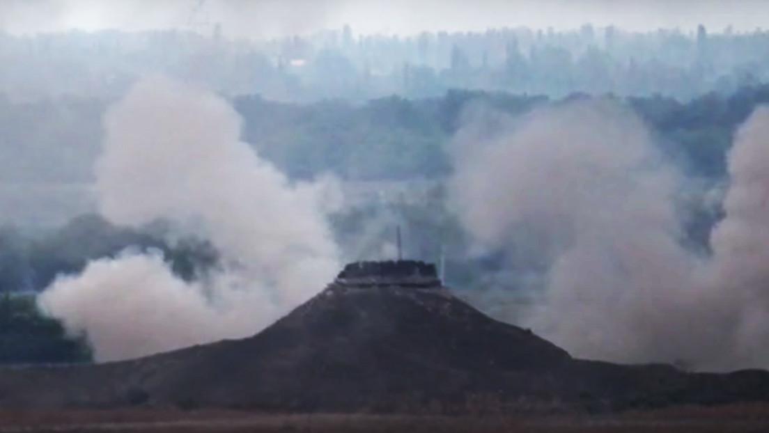 VIDEO: El Ejército armenio destruye blindados y posiciones de Azerbaiyán