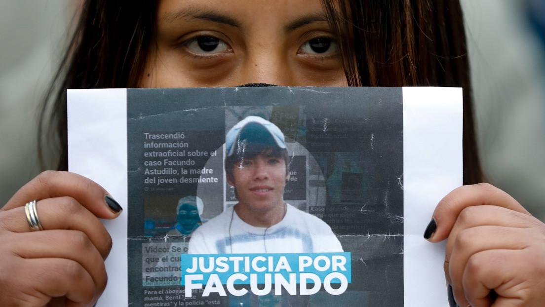 La autopsia confirma que Facundo, el joven que desapareció en Argentina, murió de asfixia por sumersión