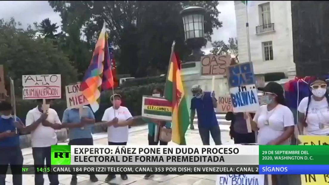 Evo Morales alerta sobre posibles intentos de evitar las elecciones en Bolivia