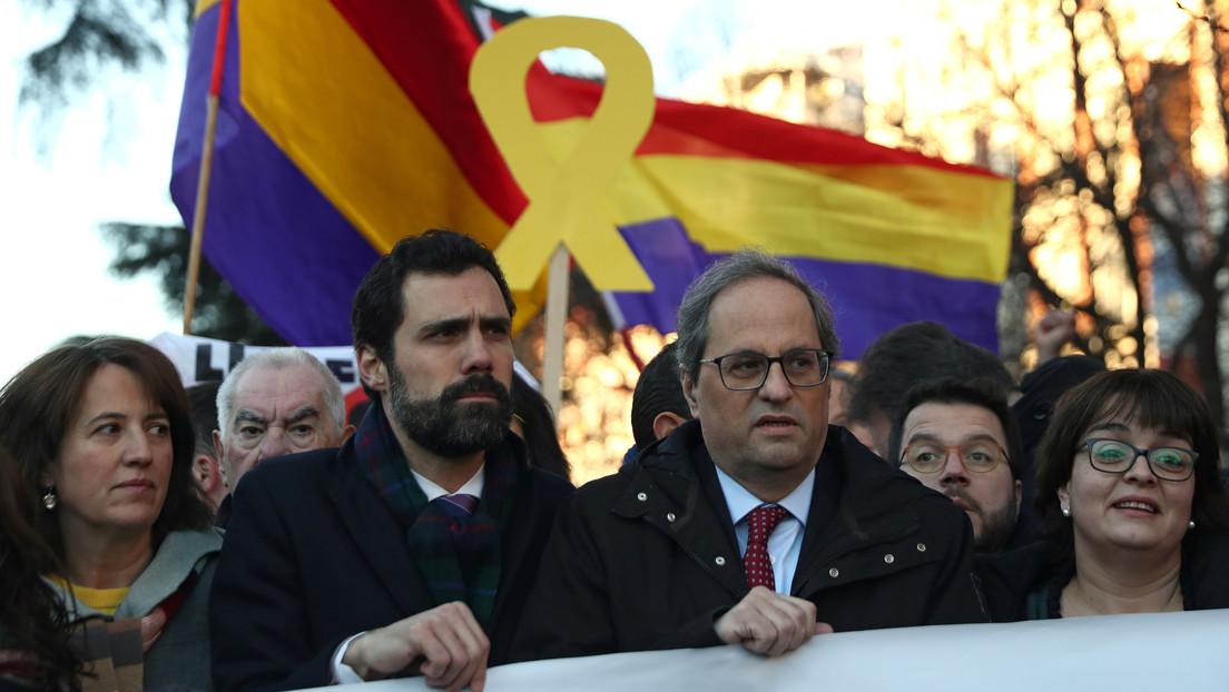 El presidente del Parlamento catalán anuncia la fecha de las elecciones en Cataluña