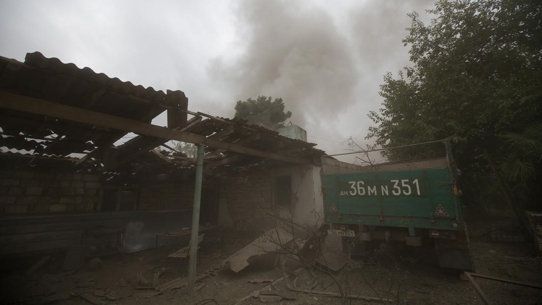 Denuncian en Armenia el uso de misiles balísticos contra civiles en Nagorno Karabaj