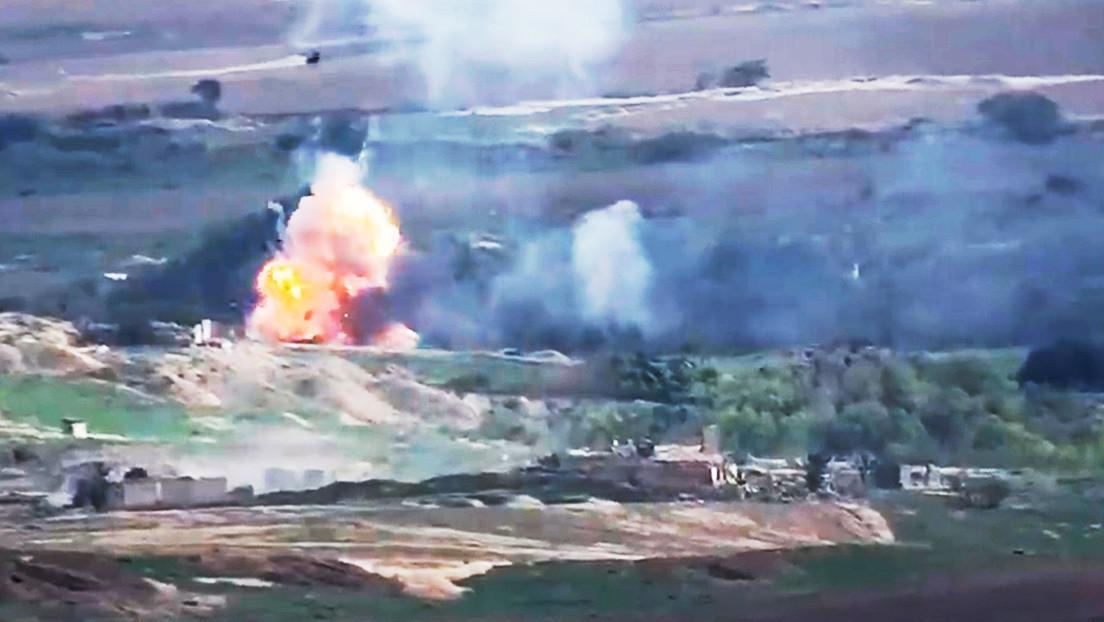 Azerbaiyán vuelve a bombardear la capital de Nagorno Karabaj - RT