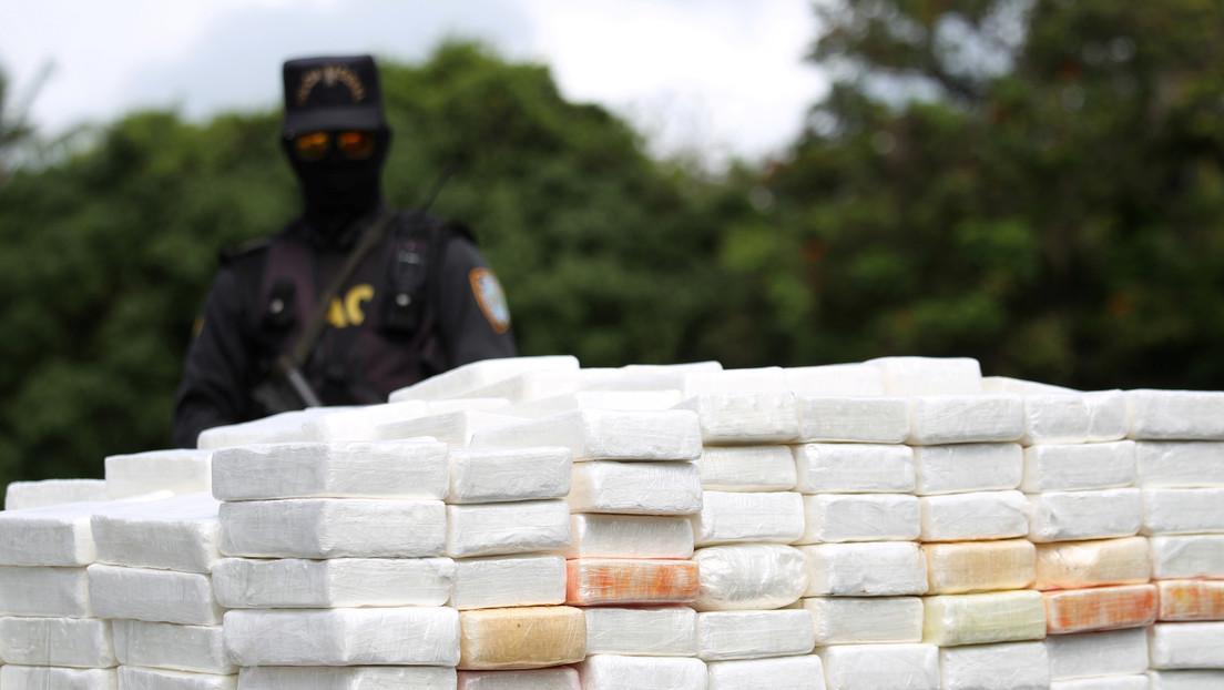 Confiscan 673 paquetes de cocaína escondidos en una carga de cacao en República Dominicana (FOTO)