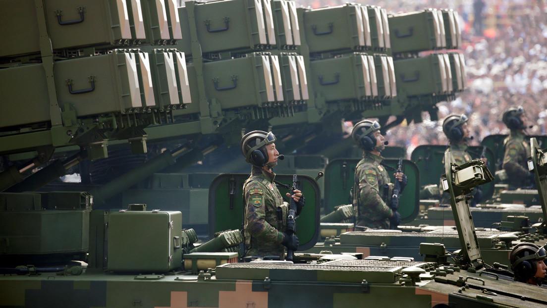 FOTOS: China exhibe su nuevo dron de ataque dotado con lanzagranadas