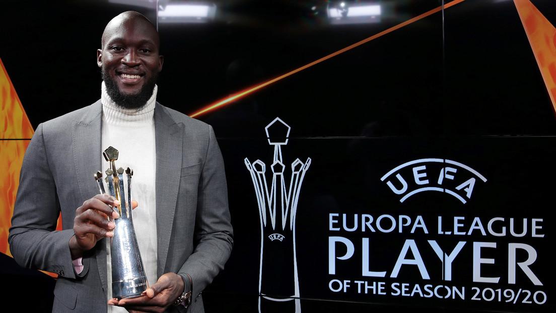 El belga Romelu Lukaku gana el premio a mejor jugador de la UEFA Europa League