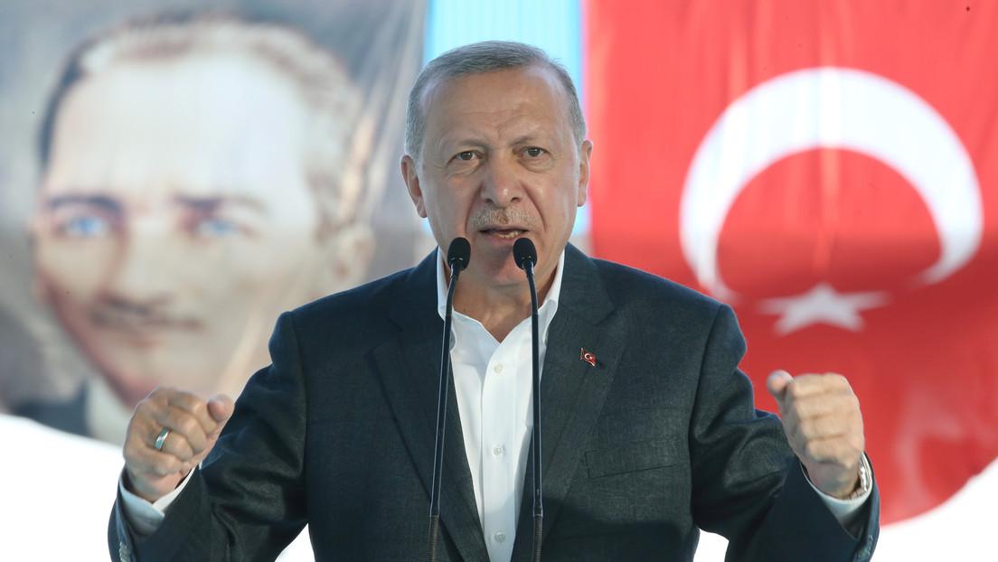 Erdogan amenaza con una nueva operación militar turca en el norte de Siria
