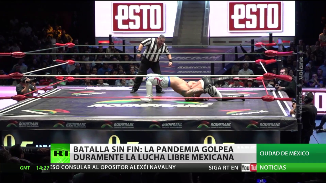 Batalla sin fin: la pandemia golpea a la industria de la lucha libre mexicana