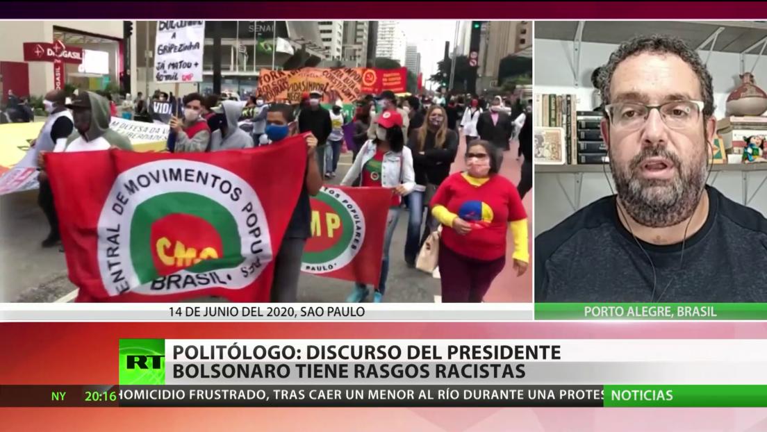 """""""El presidente Bolsonaro tiene un discurso racista en contra de los indígenas"""""""