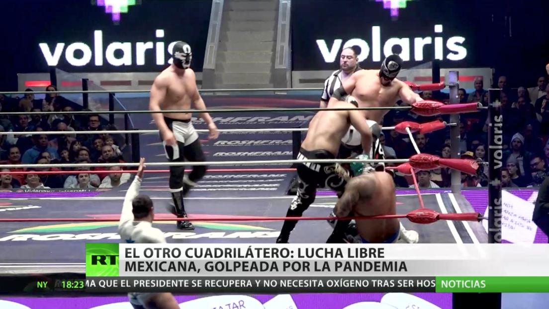 El otro cuadrilátero: la lucha libre mexicana, golpeada por la pandemia
