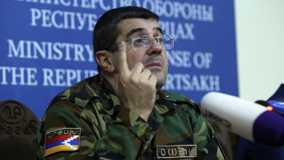 """Presidente de Nagorno Karabaj: """"No fue broma, los ataques contra Ganyá se realizaron bajo mi orden"""""""