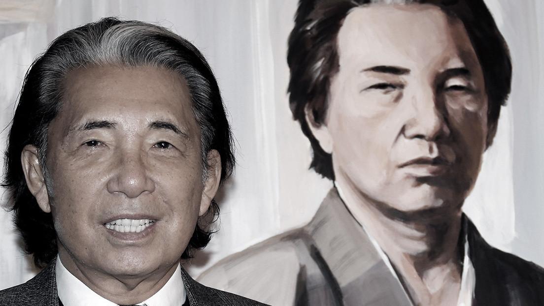 Muere por coronavirus el icónico diseñador japonés Kenzo Takada