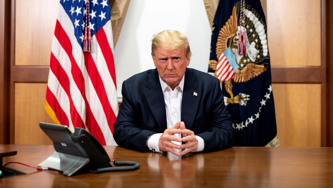 """Trump anuncia que está listo para abandonar el hospital y se siente """"mejor que hace 20 años"""""""