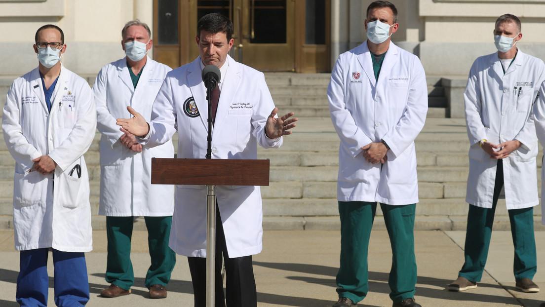 El equipo médico de Trump afirma que el presidente puede volver a la Casa Blanca, aunque no está completamente fuera de peligro