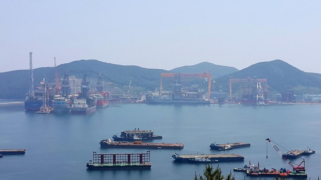 Los astilleros surcoreanos lideran en los nuevos pedidos globales de construcción naval
