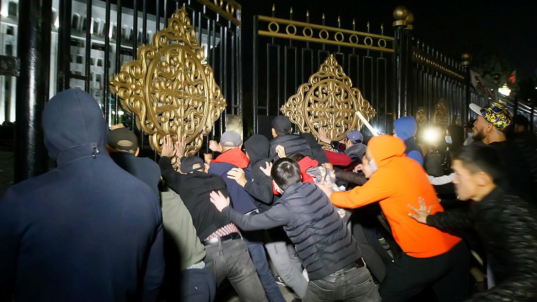El Comité Electoral de Kirguistán declara nulos los resultados de las parlamentarias que provocaron protestas en el país