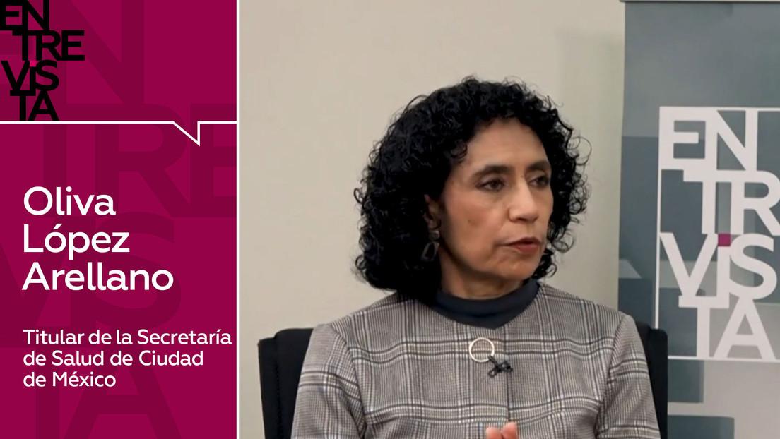 """Oliva López Arellano, titular de la Secretaría de Salud de Ciudad de México: """"Avanzamos hacia una nueva normalidad"""""""