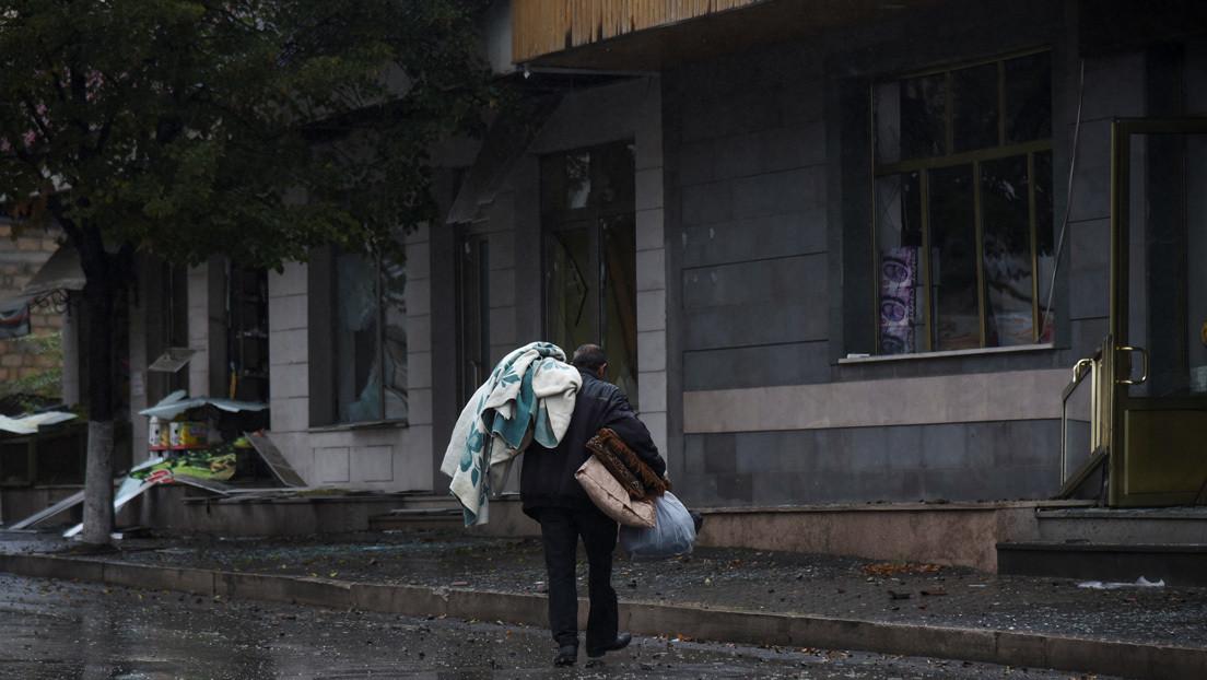 Armenios nativos de Nagorno Karabaj lamentan la guerra entre Bakú y Ereván y explican cómo afecta a sus vidas